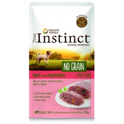 Instinct Dog Wet No Grain Mini Beef Pate 150g