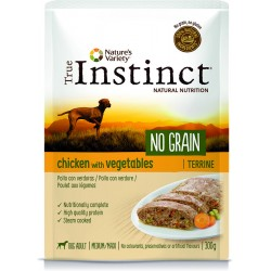 Instinct Dog Wet No Grain Medium Maxi Chicken Terrina 300g