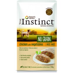 Instinct Dog Wet No Grain Mini Frango Chicken 150g