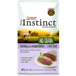 Instinct Dog Wet No Grain Mini Turkey Pate 150g