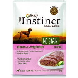Instinct Dog Wet No Grain Medium Maxi Salmon Terrina 300g