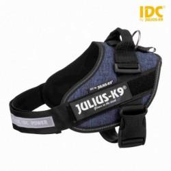 "Peitoral ""Julius-K9 IDC"" (Azul Ganga) (Mini-Mini/S) 40-53 cm"