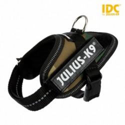 """Peitoral""""JULIUS-K9 IDC"""" (Camuflado) (Baby 2/XS-S) 33-45 cm"""