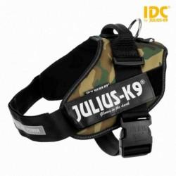 """Peitoral""""JULIUS-K9 IDC"""" (Camuflado) (1/L) 63-85 cm"""