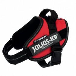 "Peitoral ""Julius-K9 IDC"" (Vermelho) (Mini-Mini/S) 40-53 cm"