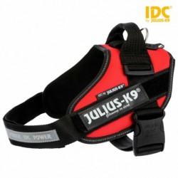 "Peitoral ""Julius-K9 IDC"" (Vermelho) (1/L) 63-85 cm"