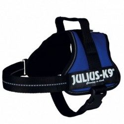 """Peitoral """"Julius-K9 """" (Azul) (Mini-Mini/S) 40-53 cm"""