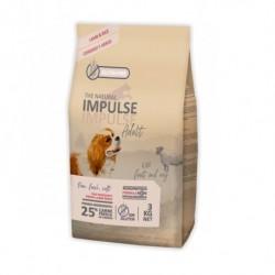 The Natural Impulse Dog Adult Lamb 3Kg