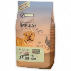 The Natural Impulse Dog Puppy Frango 12Kg