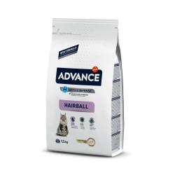 Advance Cat Hairball Turkey & Rice 1,5Kg