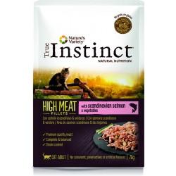 Instinct Cat Wet High Meat Salmao Filete 70g