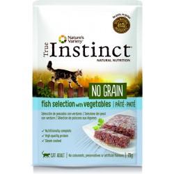 Instinct Cat Wet No Grain Peixe Pate 70g