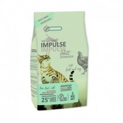 The Natural Impulse Cat Sterilized 2Kg