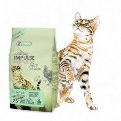 The Natural Impulse Cat Sterilized 8Kg