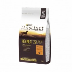 Instinct Dog High Meat Medium Maxi Adult Chicken 2Kg