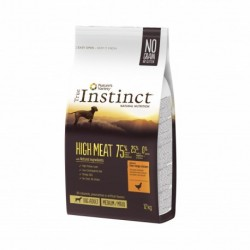 Instinct Dog High Meat Medium Maxi Adult Chicken 12Kg