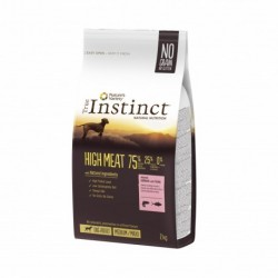 Instinct Dog High Meat Medium Maxi Adult Salmon 2Kg