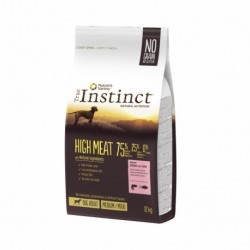 Instinct Dog High Meat Medium Maxi Adult Salmon 12Kg
