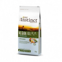 Instinct Dog No Grain Medium Junior Salmon 12Kg