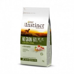 Instinct Dog No Grain Medium Maxi Adult Chicken 2Kg