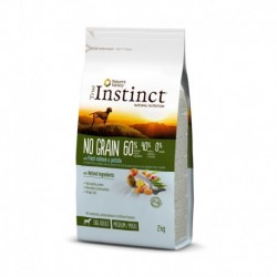 Instinct Dog No Grain Medium Maxi Adult Salmon 2Kg