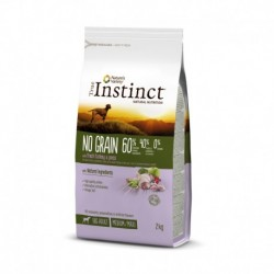Instinct Dog No Grain Medium Maxi Adult Turkey 2Kg