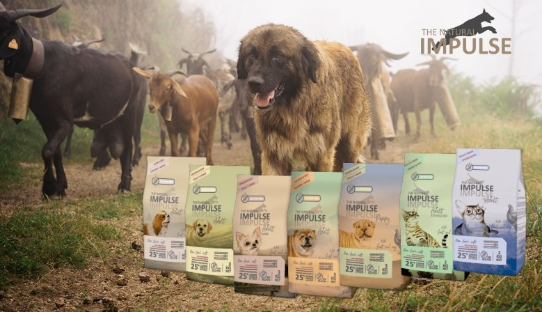 The Natural Impulse gluten-free food for dogs and cats